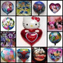 Pak/globos/metalizados:estrella,corazon,guitarra,personajes