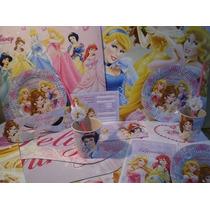 Princesas Combo Tematico 20 Chicas Con Regalos