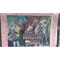 Lamina Comestible Para Torta De Monster High