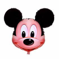 Globos Cabeza De Mickey Gigante Cumpleaños 60 X 65cm Helio