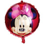 Globos Metalizados 45 Cm Minnie Mouse Pack X 10 Cotillón