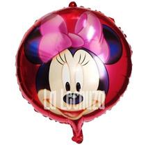 Globos Metalizados 45 Cm Minnie Mouse Pack X 10 Cotillón