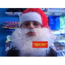 Accesorio Barba Blanca Para Disfraz De Papa Noel