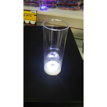 30 Vasos Luminosos 3 Led Cotillon, Eventos Fiesta Luces