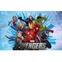 Cotillón Combo Kit Fiesta Cumpleaños Infantil Avengers