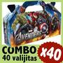 Avengers Vengadores Superheroes Cajita Valijita Souvenir X40