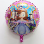Globo Metalizado X 10 Princesa Sofia Disney Cumpleaños
