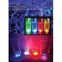 60 Vasos De Plastico Luminoso Con Led - Precio Mayorista