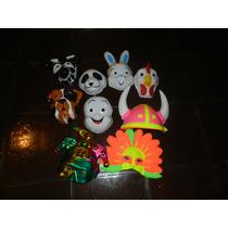 Lote 25 Mascaras Plastico