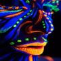 6 Maquillaje Artistico Fluo 7 Gr C/u Cotillon Luminoso Boda