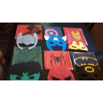 Capas De Superheroes Con Antifaces