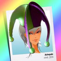 Arlequín En Tela Fluo Colores A Elección !!!