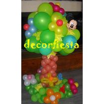 Mickey Minnie Ambientaciones Tematicas Con Globos Decoracion