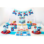 Cumpleaños Playmobil Kit Deco Impresión Y Recorte