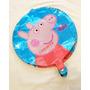 30 Globos Peppa Pig Metalizados 18 Pdas + Adorno De Torta