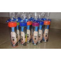 Burbujeros Personalizados Souvenirs Minions Mickey Frozen