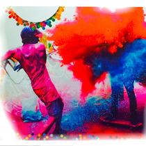 Holi Color Polvo 50grs - Promo X 12 Bolsitas La Golosineria