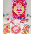 Cotillón Peppa Pig Kit Para Cumpleaños