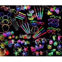 Cotillón Combo Kit Luminoso Para 300 Personas Oro 674 Art