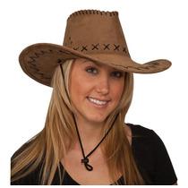Sombrero Cowboy De Gamuza Gorro Excelente Calidad