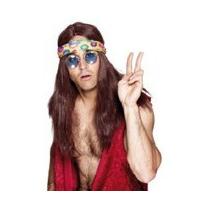 Anteojos Hippie Manosanta Accesorio Disfraz
