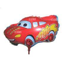 Globos Metalizados Autito Cars X10 Fiestas Cotillón