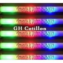 Rompecocos Personalizado Barra Goma Espuma Led Pack X 10