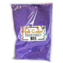 Holi Color Polvo Violeta X500grs.cotillon En Zona Oeste
