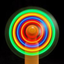 4 Ventiladores A Led Cotillon Luminoso -carnaval Carioca