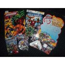 Avengers Vengadores Combo Cotillon 20 Chicos Infantil