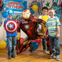 Globo Iron Man Caminante Tamaño Natural Avengers Vengadores