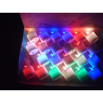 Vela Electronica +pilas -coloridas - Fiestas 15-eventos X18u