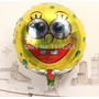 Globo Metalizado Bob Esponja Minnie Winnie Pooh 45cm