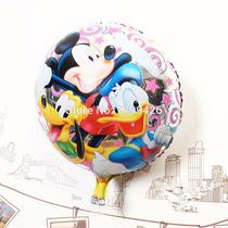 Globo Mickey Minnie Disney X 10 Metalizado