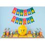 Cumpleaños Lego Kit Deco Impresión Y Recorte