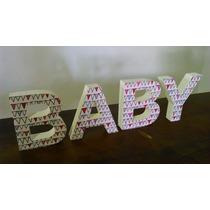 Palabra Baby Letras Corporeas De Polyfan Baby Shower