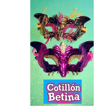 Antifaces Carnaval Carioca Cotillon Betina