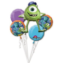 Kit De 5 Globos Monsters Inc Para Helio O Aire