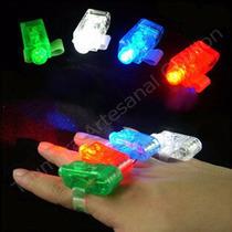Dedos Laser Luminoso Led Cotillon Carioca 4 Unidades