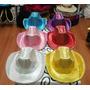 Sombreros Luminosos De Vaquero Lentejuelas - Excelentes !!!