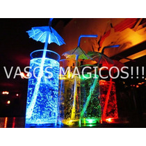 Vasos Luminosos Led X 50 Unidades. Fluo - Cotillon - Eventos