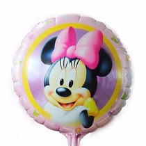 Pack De 20 Globos Metalizados Mickey Minnie Minios Frozen