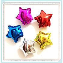 Globos Metalizados 45 Cm Estrella/corazón