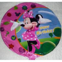 Globos Metalizados Mickey Minnie Bebe Cotillon