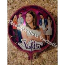 Globos Metalizados De Violetta De 18 (45cm)