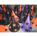Cotillón Fluo Gorros Galeras Brujas Halloween Oferta X 5 !!!