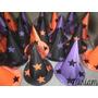 Cotillón Fluo Gorros Galeras Brujas Halloween Oferta X 10 !!