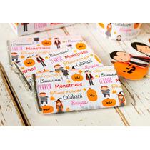 Halloween Monstruos Kit Deco Impresión Y Recorte