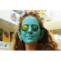 Lentes Tipo Lennon Holograma Ojos De Lagarto Ideal Halloween