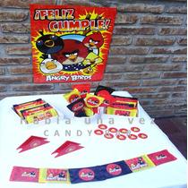Candy Bar - Angry Birds - 20 Personas Personalizado